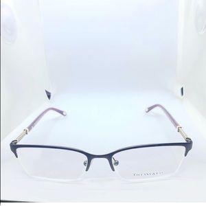 Tiffany Matte Brown & Purple Eyeglasses